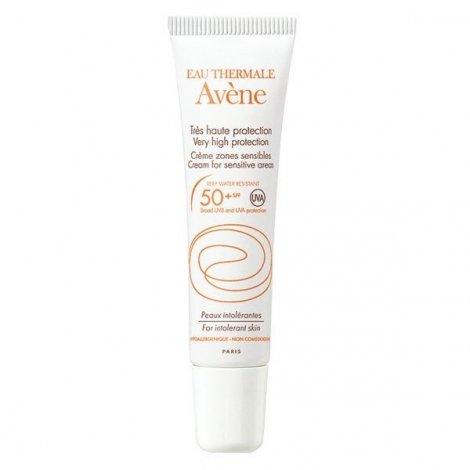 Avène Solaire Crème Zones Sensibles SPF50 Peaux Intolérantes 15 ml pas cher, discount