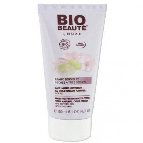 Nuxe Bio Beauté Lait Haute Nutrition au Cold Cream Naturel Corps 150ml pas cher, discount