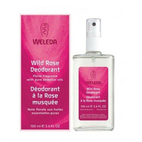 Weleda Déodorant Rose Musquée Bio Vaporisateur 100 ml pas cher, discount