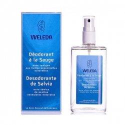Weleda Deodorant Bio à La Sauge Vaporisateur 100 ml pas cher, discount