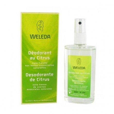 Weleda Deodorant Bio Au Citrus Vaporisateur 100 Ml pas cher, discount