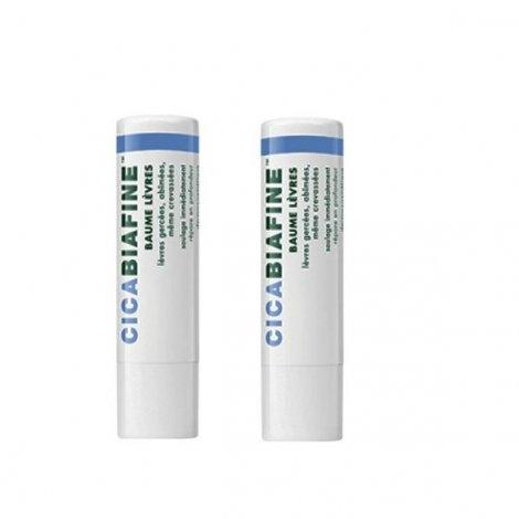 Cicabiafine Baume à Lèvres 2x4.8g pas cher, discount