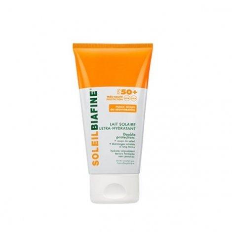 Soleil Biafine Lait Solaire SPF 50+ Ultra Hydratant 150 Ml pas cher, discount