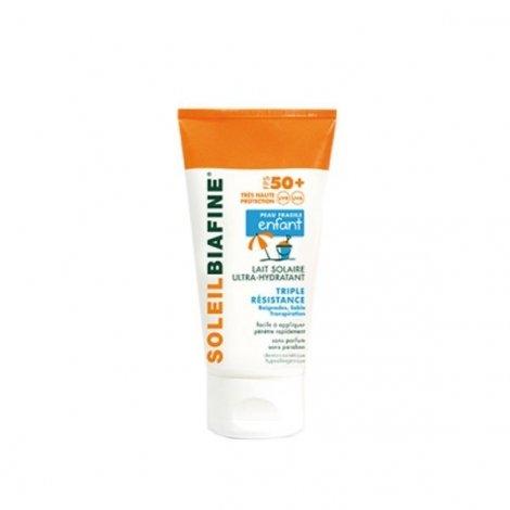 Soleil Biafine Lait Enfant Solaire Ultra-Hydratant Tres Haute Protection Fps 50+ 150 Ml pas cher, discount