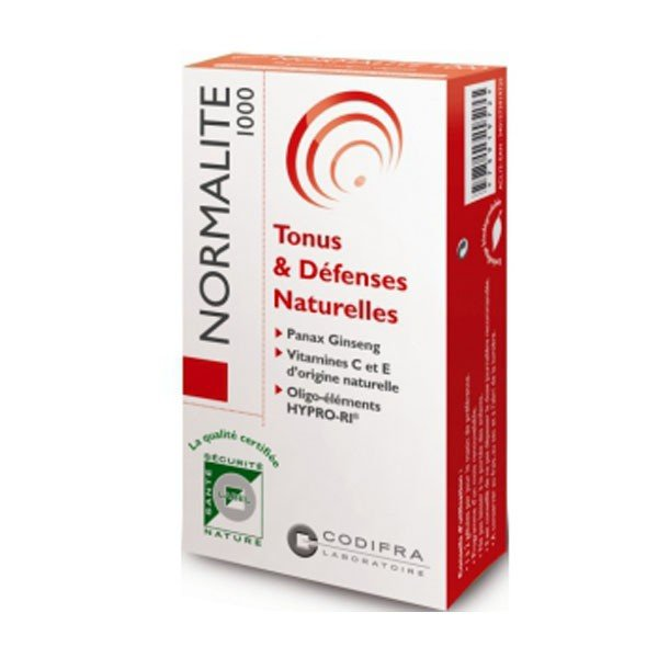 Codifra Normalite 1000 Tonus & Défenses Naturelles x30