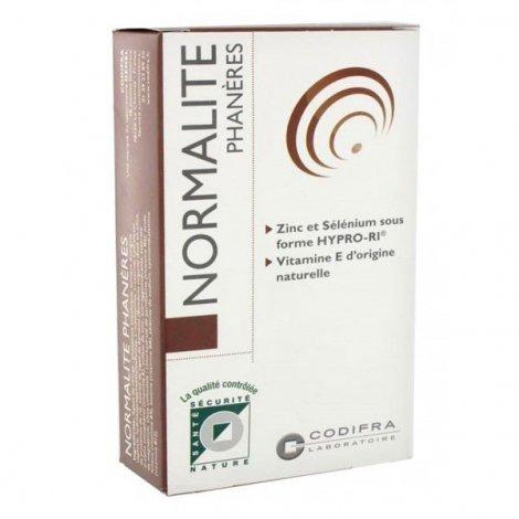 Codifra Normalite Phanères 60 gélules pas cher, discount
