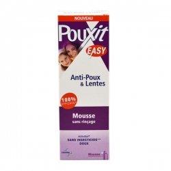 Pouxit Easy Anti-Poux et Lentes Mousse Sans Rinçage Sans Insecticide 100 ml pas cher, discount