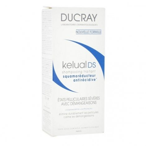 Ducray Kelual Ds Shampooing Etats Pelliculaires Severes Avec Demangeaisons 100 Ml pas cher, discount