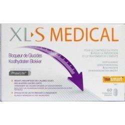 XLS Medical Bloqueur de Glucides x60 comprimés pas cher, discount