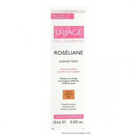 Uriage Roseliane Soin De Teint Dore Naturel Peaux Sensibles15 Ml pas cher, discount