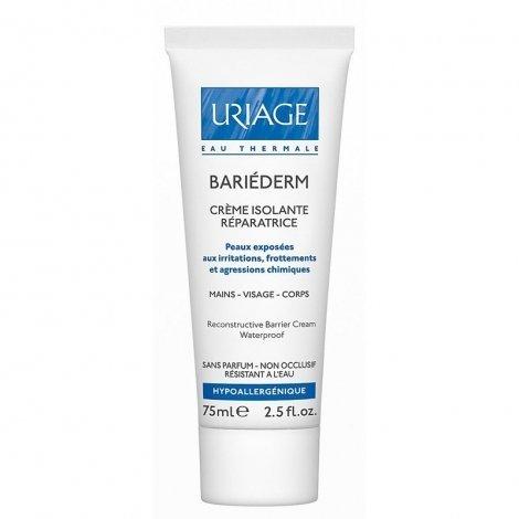Uriage Bariéderm Crème Isolante Réparatrice Mains Visage Corps 75 ml pas cher, discount