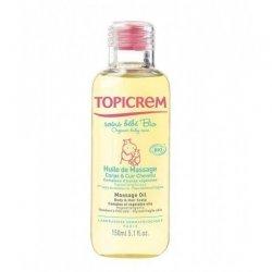 Topicrem Soins bébé Huile de massage Bio Maman et Bébé 150 ml