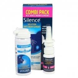 Silence Kit Anti Ronflement Spray Gorge 50ml + Spray Nasal 15ml pas cher, discount