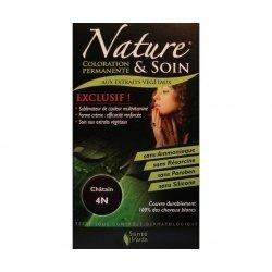 Nature et Soin Coloration Permanente Châtain 4N 129ml  pas cher, discount
