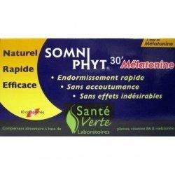 Somni Phyt 30' Mélatonine x10 comprimés
