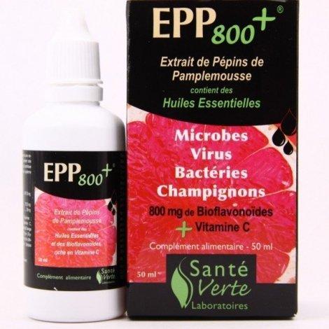Santé Verte EPP 800+ Extrait de Pépins de Pamplemousse 50ml pas cher, discount