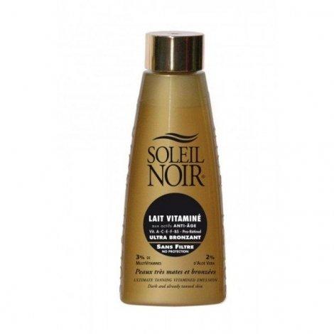 Soleil Noir Lait vitaminé Ultra Bronzant sans filtre 150 ml pas cher, discount