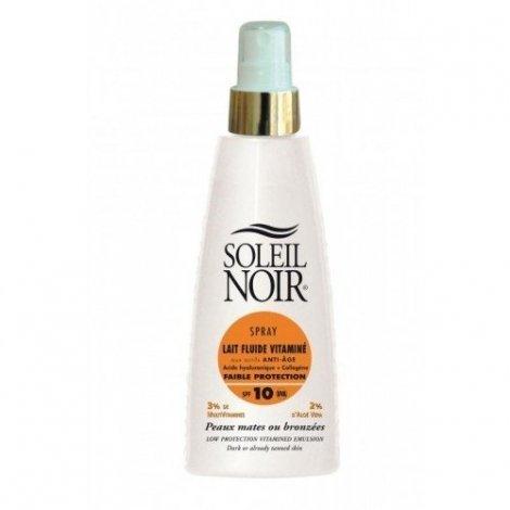 Soleil Noir Lait Fluide Vitaminé Anti Age Spray SPF 10 150 ml pas cher, discount