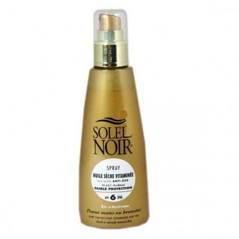 Soleil Noir Spray Huile Sèche Vitaminée Solaire SPF6 150 Ml pas cher, discount