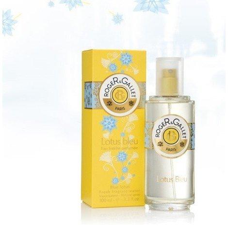 Roger Gallet Eau Fraîche Parfumée Lotus Bleu 100 ml pas cher, discount