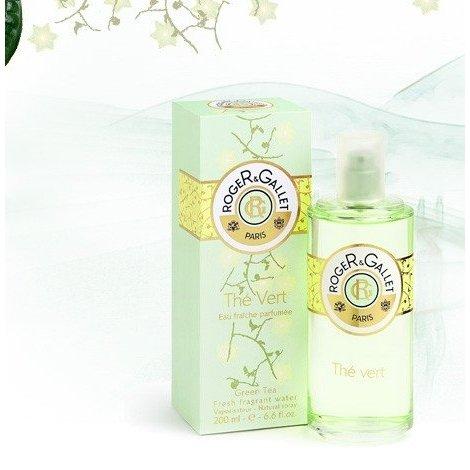 Roger Gallet Eau Fraîche Parfumée Thé Vert 200 ml pas cher, discount