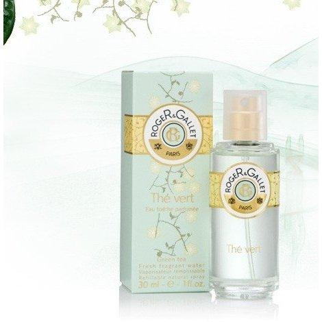 Roger Gallet Eau Fraîche Parfumée Thé Vert 30 ml pas cher, discount