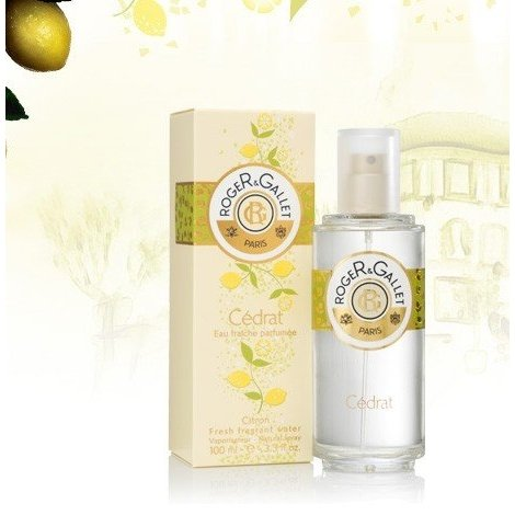 Roger Gallet Eau Fraîche Parfumée Cédrat 100 ml pas cher, discount