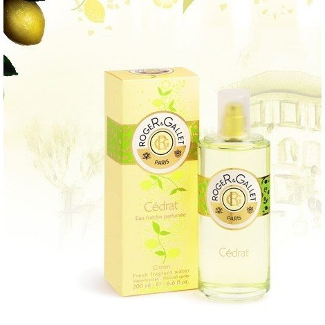 Roger Gallet Eau Fraîche Parfumée Cédrat 200 ml pas cher, discount