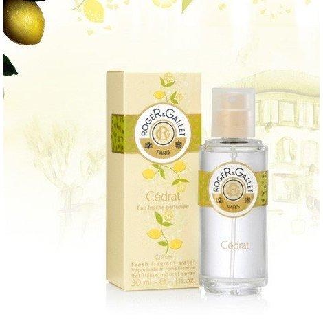 Roger Gallet Eau Fraîche Parfumée Cédrat 30 ml pas cher, discount
