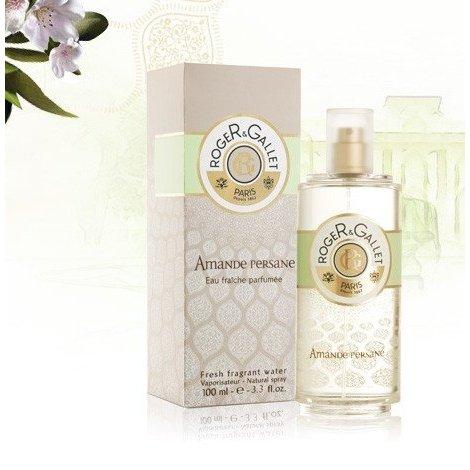Roger Gallet Eau Fraîche Parfumée Amande Persane 100 ml pas cher, discount