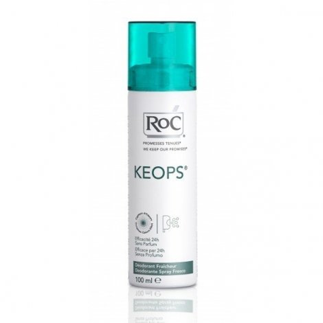 Roc Keops Deodorant Fraicheur Spray 100 Ml pas cher, discount