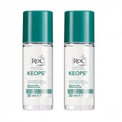 Roc Keops Deodorant Bille Offre Spéciale Lot 2x30ml