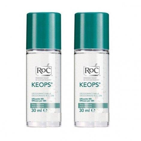 Roc Keops Deodorant Bille Offre Spéciale Lot 2x30ml pas cher, discount