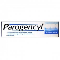 Parogencyl Dentifrice Prevention Gencives 75 Ml