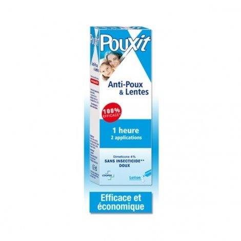 Pouxit Lotion Anti-Poux Bleu 100 Ml pas cher, discount