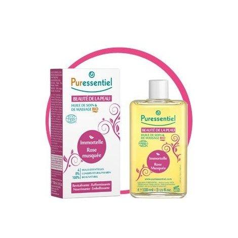 Puressentiel Beauté de la Peau : Huile de Soin et de Massage Bio 100 ml pas cher, discount