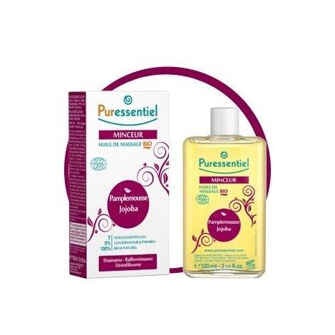 Puressentiel Minceur : Huile de Massage Bio 100 ml pas cher, discount