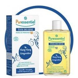 Puressentiel Eveil des Sens : Huile de Massage Bio 100 ml