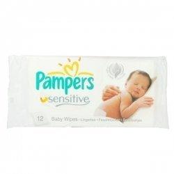 Pampers Sensitive x12 Lingettes pas cher, discount