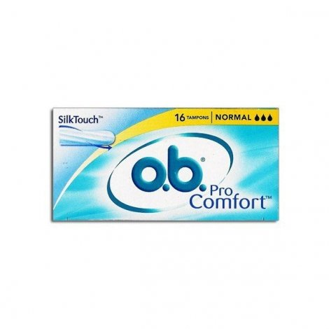 O.B. Tampons Normaux Pro Comfort Normal X 16 pas cher, discount