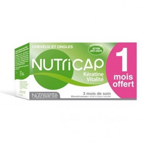 Nutricap Kératine Vitalité Nutrisante 2 Mois + 1 Mois Offert !! pas cher, discount