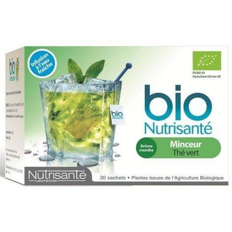 Nutrisanté Infusion Bio Froide : Minceur x20 Sachets pas cher, discount