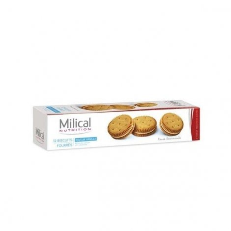 Milical 12 Biscuits Saveur Vanille pas cher, discount
