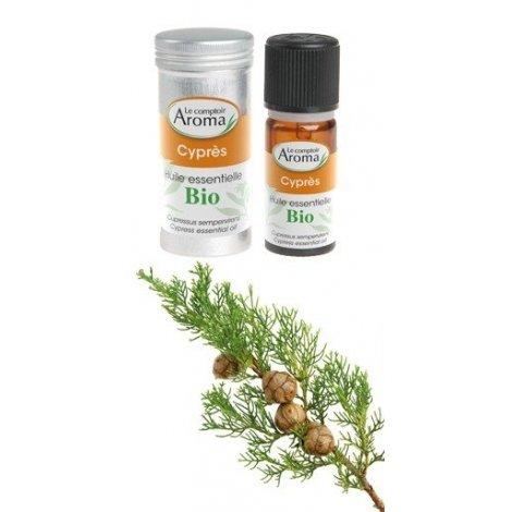 Huile essentielle Bio Cyprès Le Comptoir Aroma 10 ml pas cher, discount