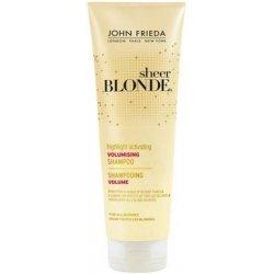 John Frieda Sheer Blonde Shampooing Volume Révélateur de Reflets 250 Ml