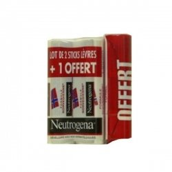 Neutrogena Sticks Levres Lot de 2 + 1 Offert !