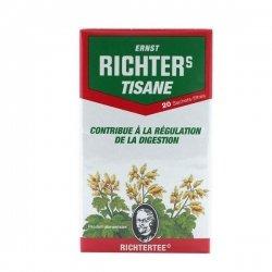Tisane Richter's Contribue à La Régulation de La Digestion 20 Sachets-Filtres