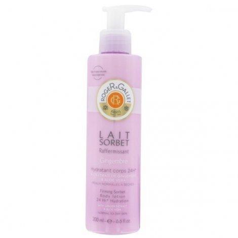 Roger Gallet Gingembre Lait Hydratant Corps Parfumé 200 ml pas cher, discount