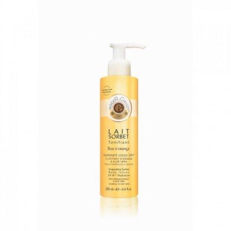 Roger Gallet Bois d'Orange Lait Hydratant Corps Parfumé 200ml pas cher, discount