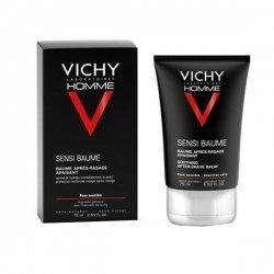 Vichy Homme Sensi Baume Baume Après-rasage Apaisant 75 ml pas cher, discount